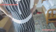 ویدیوی حشری دستمالی کردن دوست دختر سکسیم توی خونه